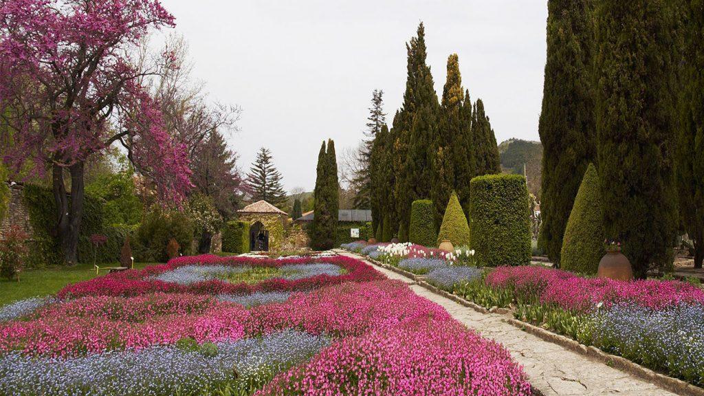Ботаническом саду в Балчике